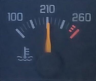 Temp gauge at 210+