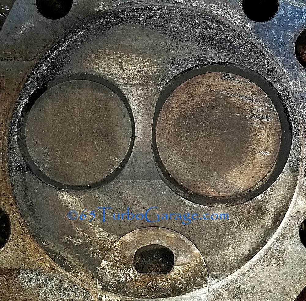 6.5 diesel heads cracked between valves