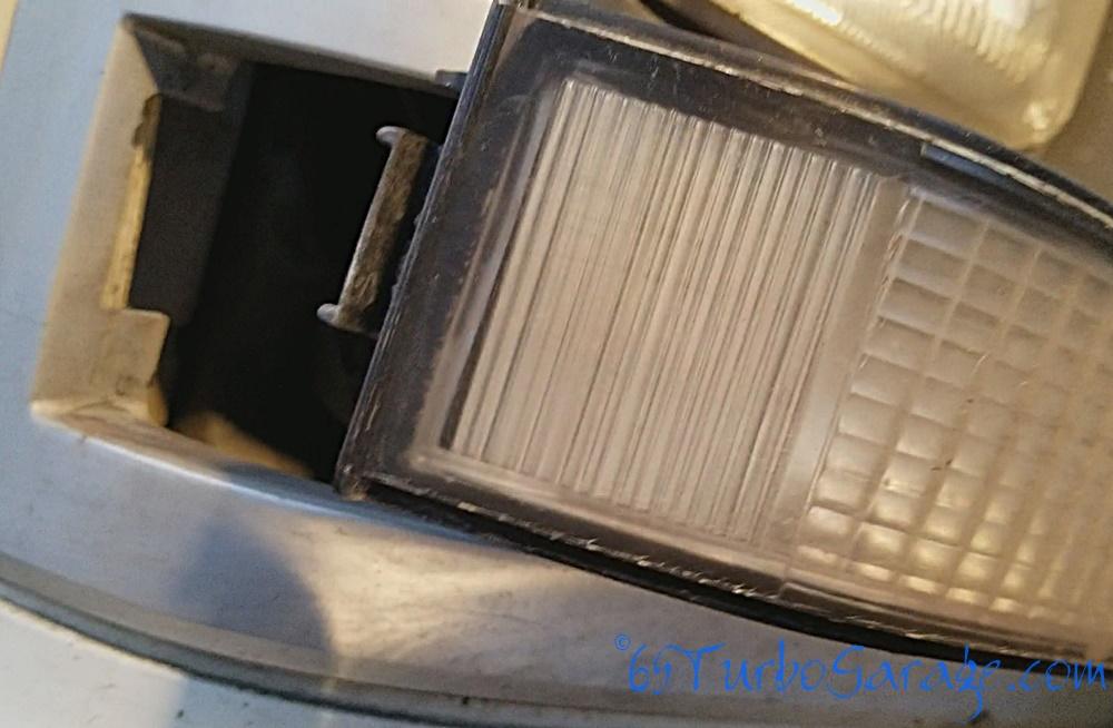 Pull front blinker clip free