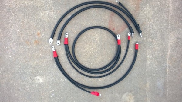 PT Wiring Solutions Heavy Duty 6.5 battery cables