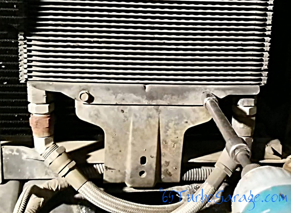 Remove oil cooler 1
