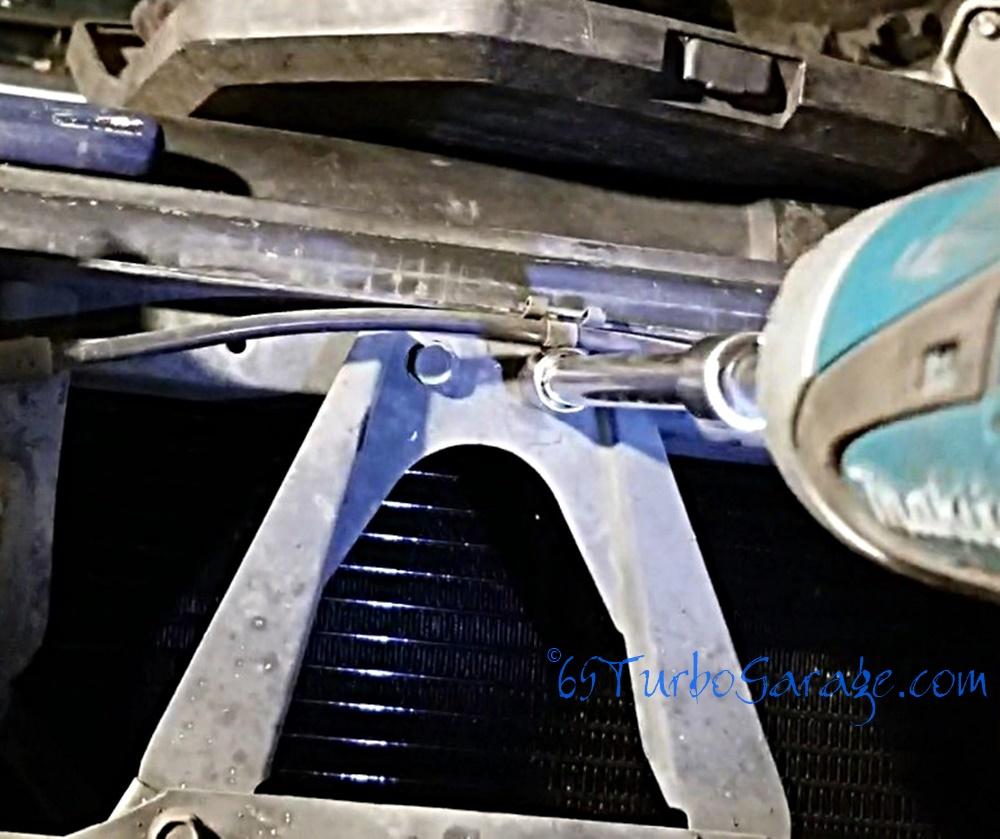 Remove oil cooler 2